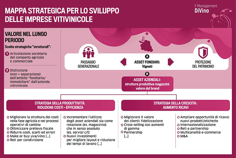 Mappa strategica impresa vitivinicola prima parte