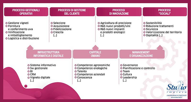 Mappa strategica impresa vitivinicola terza parte